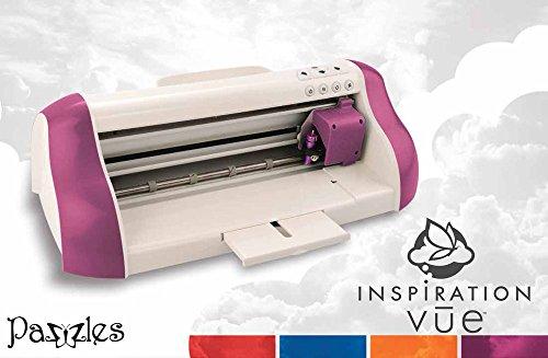 Pazzles Inspiration Vue, Purple - 12' Die Cut Cardstock