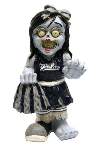 New York Yankees Resin Cheerleader Zombie Figurine (Figurine Cheerleader)
