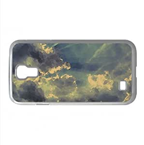 Clouds Watercolor style Cover Samsung Galaxy S4 I9500 Case (Sun & Sky Watercolor style Cover Samsung Galaxy S4 I9500 Case) Kimberly Kurzendoerfer