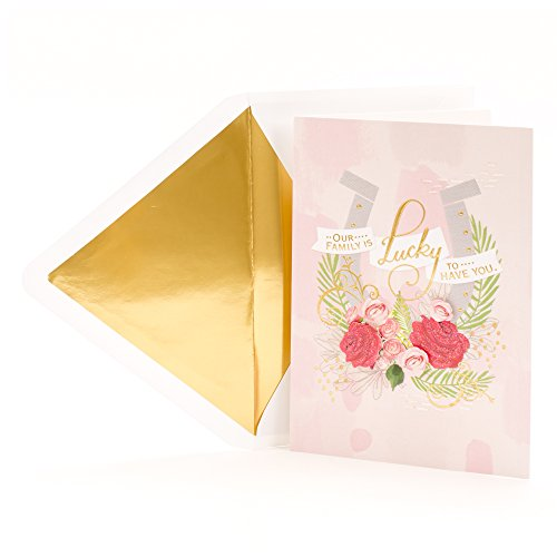 Hallmark Signature Mother's Day Greeting Card for Relative (Family is Lucky to Have You)