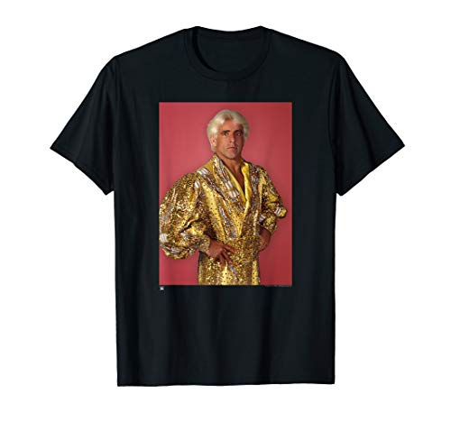 WWE Ric Flair Gold Robe Photo with -