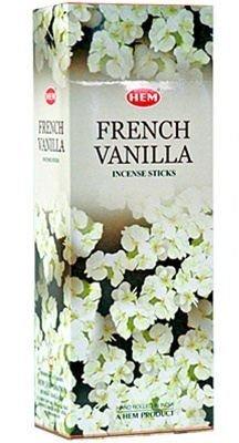 Vanilla Incense - Hem French Vanilla Incense, 120 Sticks Box