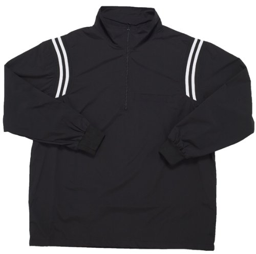 Adams USA Sleeve Smitty Umpire Pullover 1/2 Zip Zip Long Sleeve Pullover Jacket (Black, Medium) B004MDP8VW, 田平町:5836b4c8 --- accounting8.ru