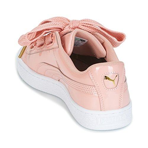 Heart Wn's Rosa Patent Basket Puma Ginnastica Da Scarpe Basse Donna 5F6qZw