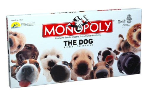 Monopoly: The Dog Artlist Collection (Dog Monopoly Board Game)