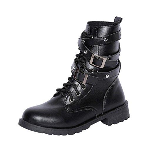 Fashion Stiefeletten Damen Schuhe Wildleder Boots Used 4191 Schwarz 40