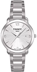 Tissot Women's T057.210.11.037.00 Silver Dial Dial Every Time Watch