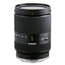 Tamron 18-200mm Di III VC for Sony Mirrorless Interchangeable-Lens Camera Series (Black