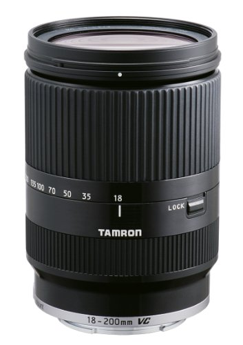 Tamron 18-200mm Di III VC (Black) for Sony E-Mount Mirrorless Interchangeable-Lens Camera (Model B011) - International Version (No Warranty)