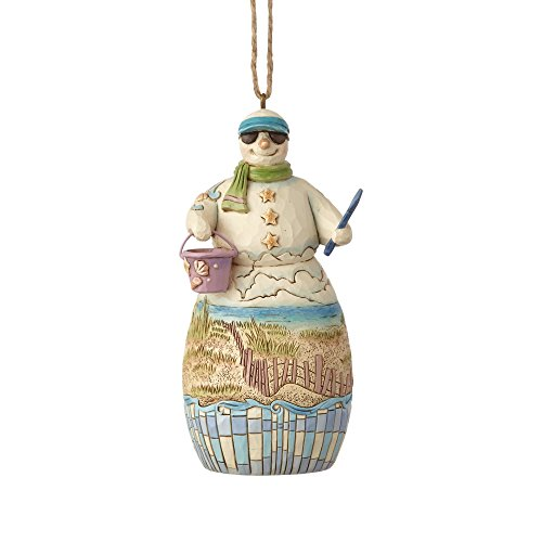 Enesco Sandman with Beach Scene Home Décor, Multicolor ()