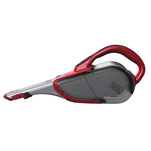 BLACK+DECKER HHVJ320BMF26 Cordless Lithium Hand Vacuum, Chilli Red, 2 Ah - Devil Red Inc Brush