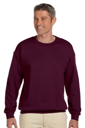Jerzees Men's Super Sweats Crew Neck Sweatshirt, True Red, XX-Large (People Crewneck Sweatshirt)