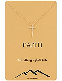 Friendship Infinity Compass Necklace Good Luck Small Elephant Necklace with Message Card