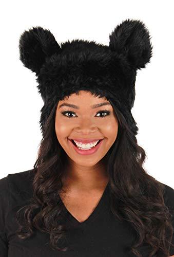 elope Black Bear Plush Hat ()
