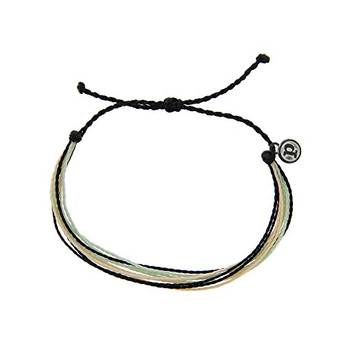 Pura Vida Sierra Bracelet - Iron-Coated Copper Charm, Adjustable Band - 100% Waterproof from Pura Vida