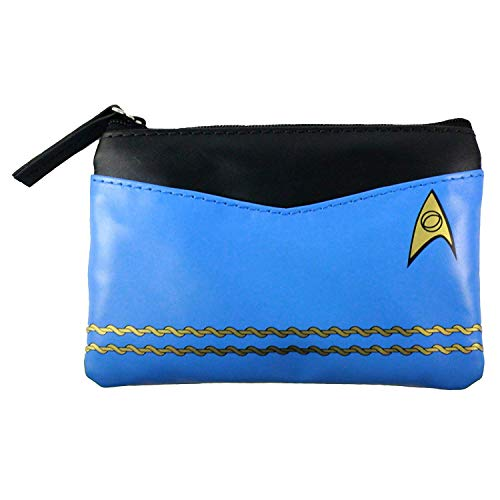 Star Trek Original Series Blue Uniform Coin Purse -
