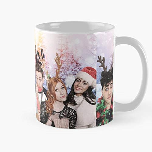 Party Decoration 11 Ounce White Miinviet. Holiday Shadowhunters Christmas Classic Mug The Funny Coffee Mugs For Halloween