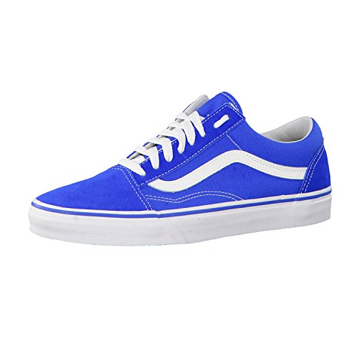 0b6a5813f9 Galleon - Vans Old Skool Suede Skate Shoes Imperial Blue True White ...