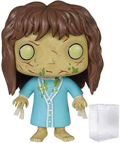 Funko Pop! Movies: The Exorcist - Regan Vinyl Figure (Bundled with Pop BOX PROTECTOR CASE) -