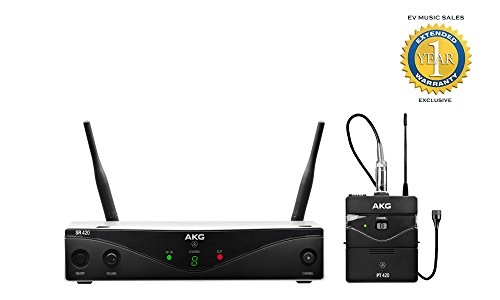 AKG WMS420 Presenter Set Wireless Microphone System Band A with 1 Year Free Extended Warranty