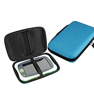 Hermitshell Hard Travel Case for Leapfrog LeapPad Ultimate (Blue)