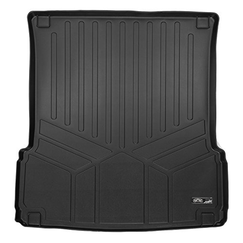 MAXLINER All Weather Custom Cargo Trunk Liner Floor Mat Behind 2nd Row Black for 2013-2019 Mercedes Benz GL / GLS Series (2014 Mercedes Benz Gl Class Gl450 Suv)