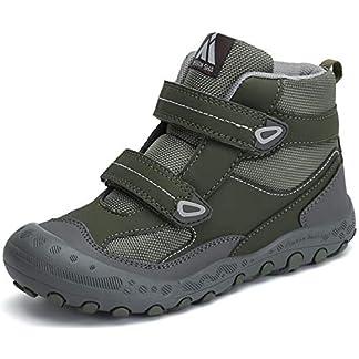 Mishansha Kids Hiking & Trekking Shoes Boys Girls Outdoor Non-Slip Walking Shoes 11
