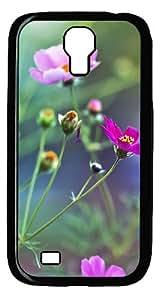 Samsung Galaxy S4 I9500 CaseAmazing Flowers PC Hard Plastic Case for Samsung Galaxy S4 I9500 Black