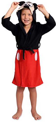 Mickey Mouse Toddler Boy Hooded Robe (5T) by Mickey Mouse