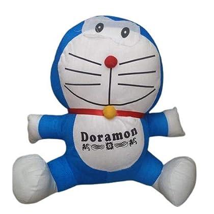 RSINTERNATIONAL Toys Doraemon Soft Toy for Kids (Blue)