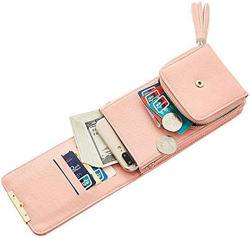 ショルダーストラップ付き女性の高級電話バッグクラッチウォレット YZUEYT