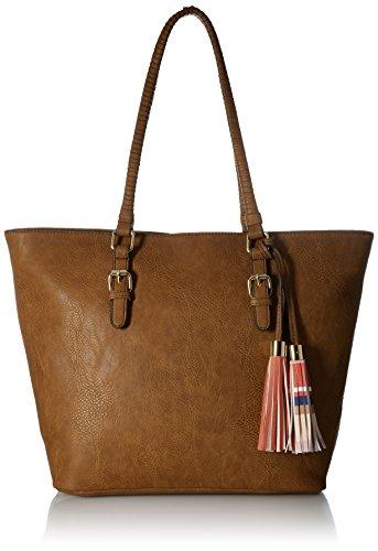 Call It Spring Hewet Shoulder Handbag, Cognac