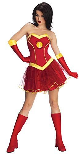Secret Wishes Marvel Universe Rescue Adult Costume Tutu Dress, As Shown, Large ()