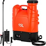 Best Backpack Sprayers - Happybuy Battery Powered Backpack Sprayer 4 Gallon Battery Review
