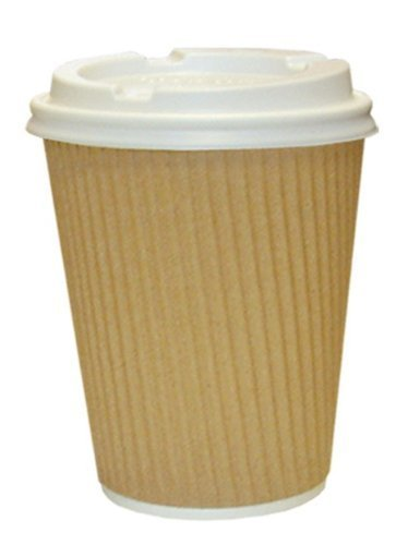 Fine Paper Coffee Cup 12 Ounce Ripple Cups And White Lids 3 Ply Insulated For I In Inspiration Decorating