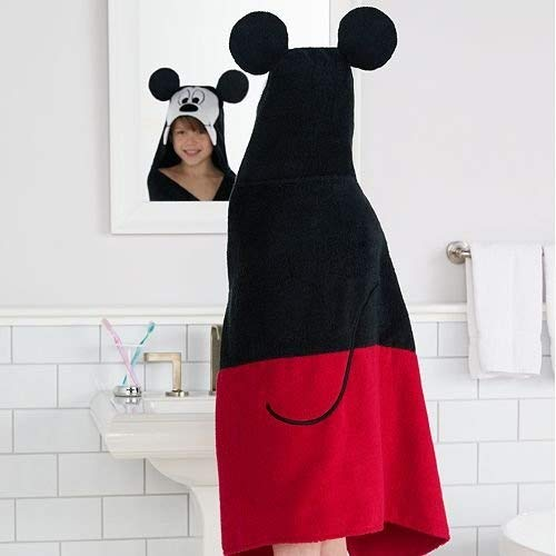 Disney Mickey Mouse Hooded Bath Wrap by Disney