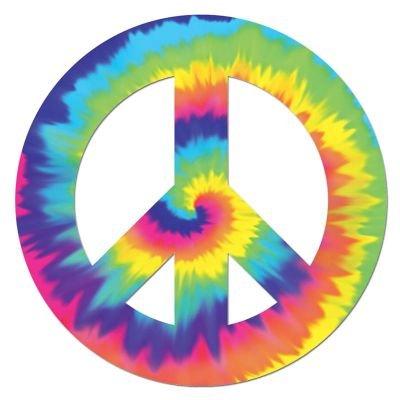 Feeling Groovy Peace Sign Cutout for $<!--$6.95-->