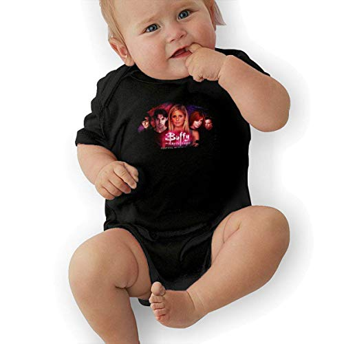 sretinez Baby's Buffy The Vampire Slayer Bodysuit Outfits Black