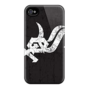 Excellent Cell-phone Hard Cover For Iphone 4/4s With Provide Private Custom HD Chicago White Sox Skin AnnaDubois