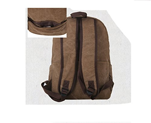 Brown purpose Travel Backpack Business Laidaye Men's Shoulder Multi Leisure Bag YwRvgRqz