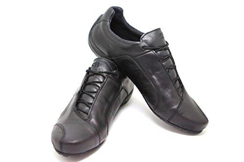 KS® 98 - Herren Sneaker aus Leder - Schwarz