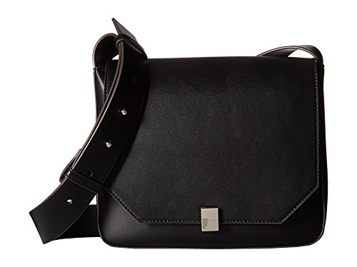 French Connection Women's Cara Crossbody Black Crossbody Bag