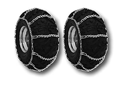 Amazon.com: ATV V-Bar Barro/Nieve Tire Cadenas 22 x 11 x 10 ...