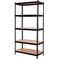 Heavy Duty Shelf Garage Steel Metal Storage Rack Adjustable Shelves New 72' 5 Level