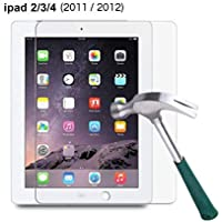 """M.G.R.J® Tempered Glass Screen Protector for Apple iPad 2/3 / 4 (9.7"""" inch) (2011, 2012)"""