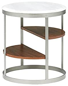 Urban Living Adwin CT-358 End Table, White
