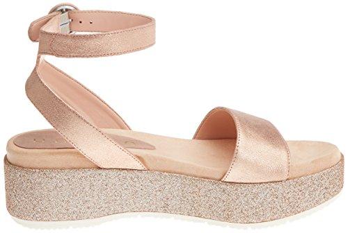 Unisa Women's Bueno_MTS Wedge Heels Sandals Pink (Ballet) 100% guaranteed sale online pculcVOW