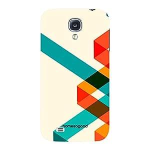HomeSoGood Multiple Swirl Pattern 3D Mobile Case For Samsung S4 ( Back Cover)