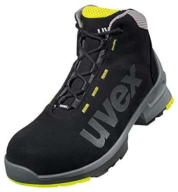 Uvex One - Botas de seguridad, color negro, talla 35