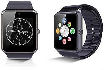 Smartwatch con SIM Compatible con Smartphones Android y iPhone SW ...
